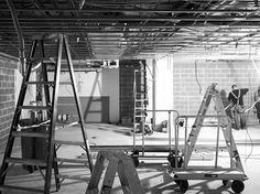 Ceiling grid up on site! Ceiling Grid, Interior Architecture, Studio, Happy, Inspiration, Instagram, Architecture Interior Design, Biblical Inspiration, Interior Design