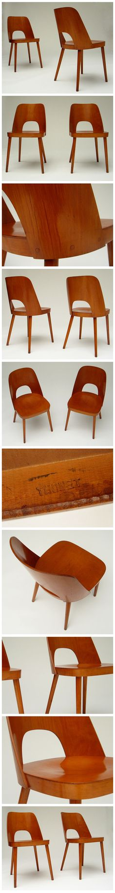Chair by Thonet and Cherner for Plycraft