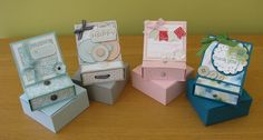 Stampin' Up!, Easel Card & Drawer, Box