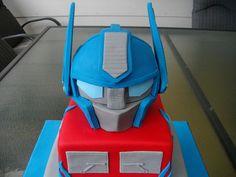 Transformers cake....For Hunter