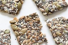Seed crackers (gluten and dairy free)