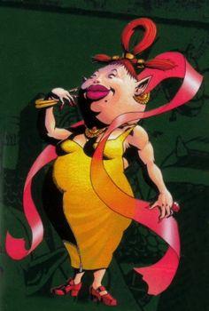 Madame Aroma, femme de corpulence assez forte), est la femme du Maire Dotour et la mère de Kaféi dans Majora's Mask. Depuis la disparition de son fils, elle le cherche sans relâche et engagera Link comme détective pour le retrouver. Elle est également responsable du Carnaval de Bourg-Clocher et membre du Milk-Bar, bar où elle se trouvera lors des dernières heures de Termina et où elle pourra libérer le facteur zélé de sa charge si ce dernier lui livre la lettre de Kaféi.