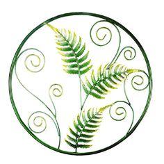 fern and koru design 46 l x 1 w x 46 h cm Kiwiana, Ferns, Wall Art, Cl, Woodwork, Garden, Metal, Design, Products
