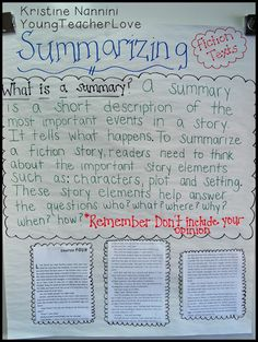 Expository Writing Anchor Chart | expanded the above graphic organizer onto our anchor chart to ...