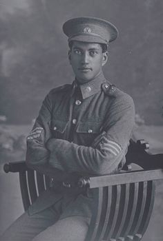 Portrait of Sergeant Louis Nathan. New Zealand Maori Pioneer Battalion - a combination of Anzac and memorial photographs included in the Coming Home virtual exhibition by Auckland City Libraries. World War One, First World, Erwin Rommel, Maori People, Anzac Day, Military Police, Coming Home, Military History, Men Looks