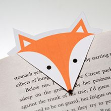 Print selv: Foxy Bookmarks