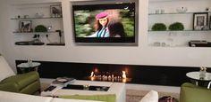 Télévision et bruleur ethanol un design magique http://www.a-fireplace.com/fr/bruleur-ethanol-et-television/