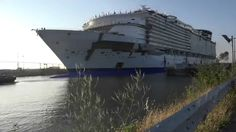 Harmony of the seas WOW THIS IS GOING TO BE ONE BIG SHIP