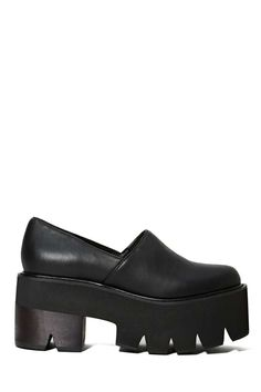 Jeffrey Campbell Kinney Platform | Shop What's New at Nasty Gal I wish these were vegan