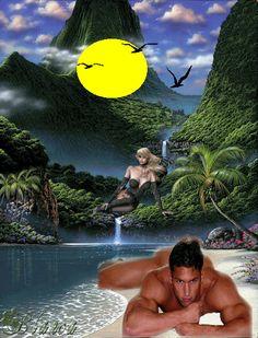 Blog Zosi3xp Night Wishes, Beautiful Gif, Good Night, Surrealism, Mona Lisa, Animation, Artwork, Blog, Costumes