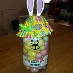 Great for Daisy craft for kids in hospital Water bottle bunny Easter gifts!