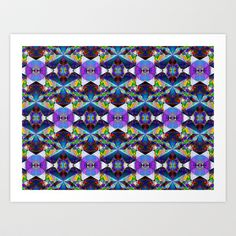 Honeycomb1 D Art Print by K Shayne Jacobson - $18.72