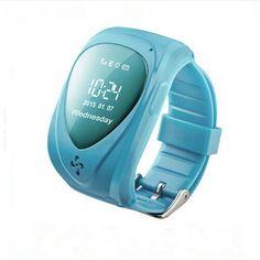 Armbanduhr kinder blau  Y3 GPS Uhr für Kinder tragbare Geräte Kind Gps-tracking-gerät Blau ...