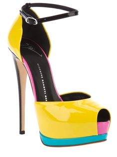 patent leather high heel sandal from Giuseppe Zanotti