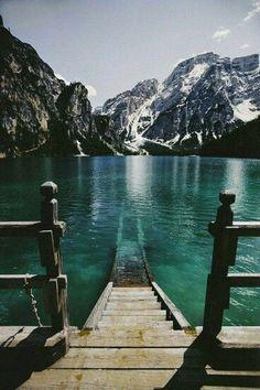 Lake Braies Dolomiti (Italy)