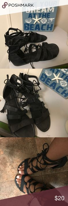 Maurices gladiator sandals ! Like new 🌹 Like new maurices sandals. Very comfy Maurices Shoes Sandals