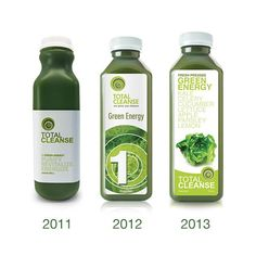 In honour of #throwbackthursday we present the evolution of @totalcleanseca! I wonder what's in store for 2015? #staytuned #soexcited