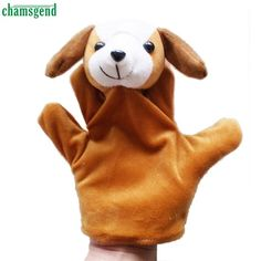 Modern Cartoon Children Baby Toy Finger Puppets Hand Puppet Doll Animals Gloves For Kids Drop Shipping H16