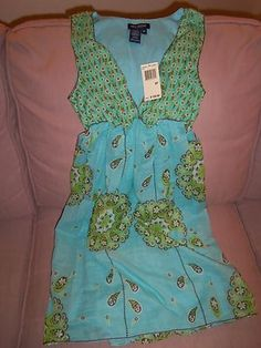 $10.00 Look what I found on @eBay! http://r.ebay.com/i8Z7lV  Juniors Viscose Dress Top Size SP By Max Edition Petite