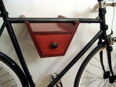 Wooden bike racks