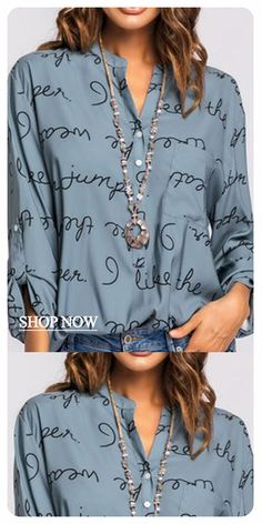 Femme Tops Imprimé léopard à manches longues à encolure POLO Casual Blouse T Shirt Tee