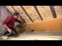YouTube Garage, Construction, Flat Screen, Wood, Couture, Attic House, Attic Spaces, Remodels, Carport Garage