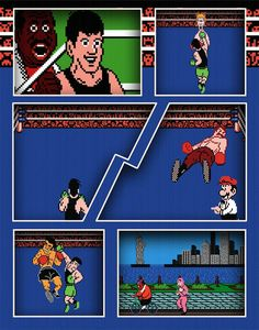 Video Game Art Print - Punch Out - Nintendo Tribute on Etsy, $12.49