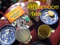 An afternoon tea inspired by Enid Blyton's Faraway Tree books, even a recipe for Pop Tarts!