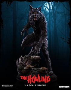 Awesome statue from the Howling & how to make a realistic werewolf costume - Google Search | werewolf ...