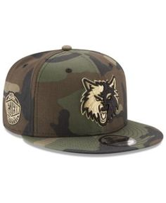reputable site ec044 9214a New Era Minnesota Timberwolves Metallic Woodland 9FIFTY Snapback Cap    Reviews - Sports Fan Shop By Lids - Men - Macy s