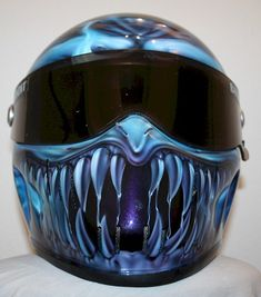 Simpson motorcycle helmets have been developed and tested with protecting your biker brain their number 1 priority. Custom Paint Motorcycle, Custom Motorcycle Helmets, Custom Helmets, Motorcycle Style, Motorcycle Gear, Women Motorcycle, Custom Choppers, Custom Motorcycles, Custom Bikes