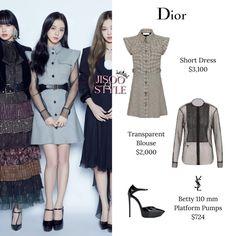 Kpop Fashion Outfits, Blackpink Fashion, Korean Outfits, Teenager Outfits, Girl Outfits, Looks Teen, Airport Style, Platform Pumps, Short Dresses