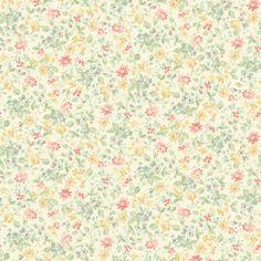 "Brewster Home Fashions Springtime Cottage Dense 33' x 20.5"" Floral and Botanical 3D Embossed Wallpaper & Reviews | Wayfair"