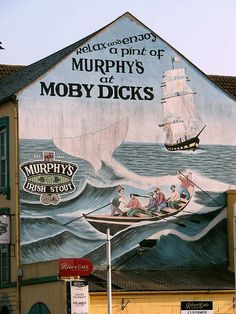 moby-dicks | by shanesupple Places Ive Been, Cork, Vintage World Maps, Explore, Painting, Painting Art, Paintings, Corks, Painted Canvas