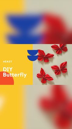 Diy Clear Slime, Diy Butterfly, Paper Crafts, Diy Crafts, Animal Crafts, Creative Crafts, Diy Tutorial, Crafts For Kids, Projects To Try