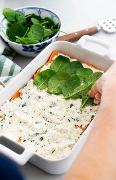 No-Noodle Sweet Potato Sage Lasagna