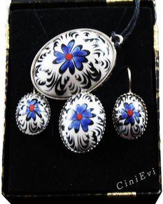 Turkish Art, Tile Art, Jewelry Art, Fancy, Pendant Necklace, Drop Earrings, Deco, Pintura, Tile