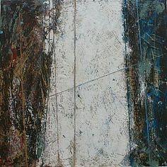 KAREN JACOBS SPAN 5 - 18x18 - encaustic on panel