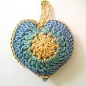 Stuffed Heart - via @Craftsy
