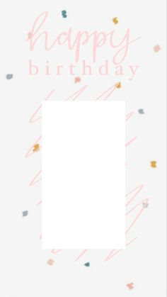 Instagram Story Template, Happy Birthday, Templates, Frame, Happy Aniversary, Role Models, Happy Brithday, Urari La Multi Ani, Template