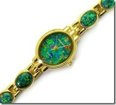 Pinterest opal jewelry-opal-watch- $355 including gift boxing and freight. http://opalmine.com/shop/opal-watch-6203/