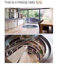 kitchen floor wine cellar | bird's eye view: you'll easily find
