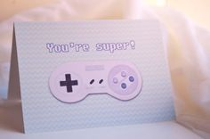 Geeky Card You're Super 5x7 Blank Super by AwkwardAffections, $5.00