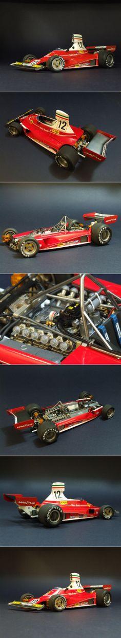 Hasegawa 1/20 Ferrari 312T, Winner Monaco 1975 GP edition.     http://www.network54.com/Forum/47751/message/1390412123/Ferrari+312T.