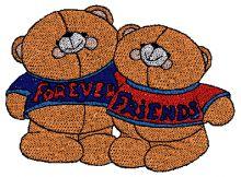 Cute Bears Design - Machine Embroidery Designs