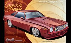 Chevrolet Chevelle, 1973 Chevelle, Chevy Impala, Chevy Vehicles, Car Illustration, Car Drawings, Automotive Art, Fast Cars, Custom Cars