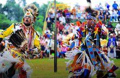 Aboriginal dancers- grans River Pow- Wow