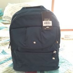 Backpack by Baggellini Very pretty; dark turquoise. Many pockets inside and out. Baggallini Bags Backpacks