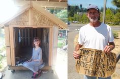 9-year-old girl builds tiny homes from scratch for the homeless | Inhabitat - Sustainable Design Innovation, Eco Architecture, Green Building