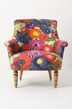 I absolutely love this Blythe chair from Anthro. A tad on the expensive side for me though!